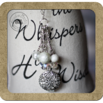 Pearl Drop Locket Necklace